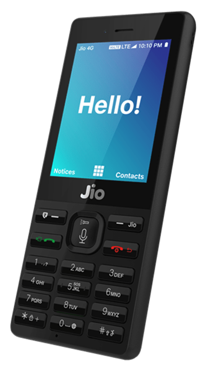 Jio phone picture