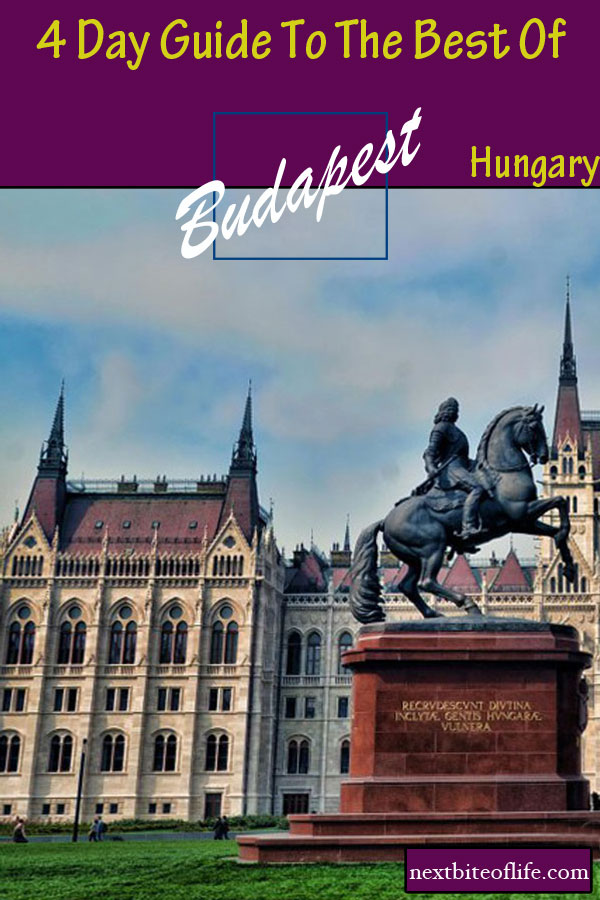 Budapest 4 day guide #Budapest #Hungary #visitbudapest #budapestguide #budapestwhattosee