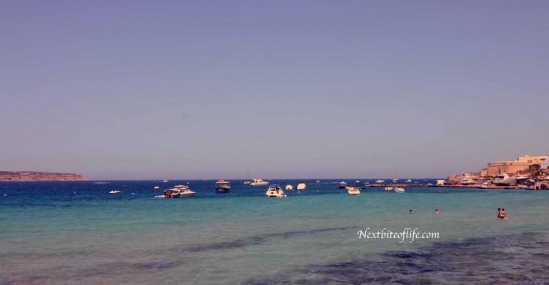 summer time beach mellieha