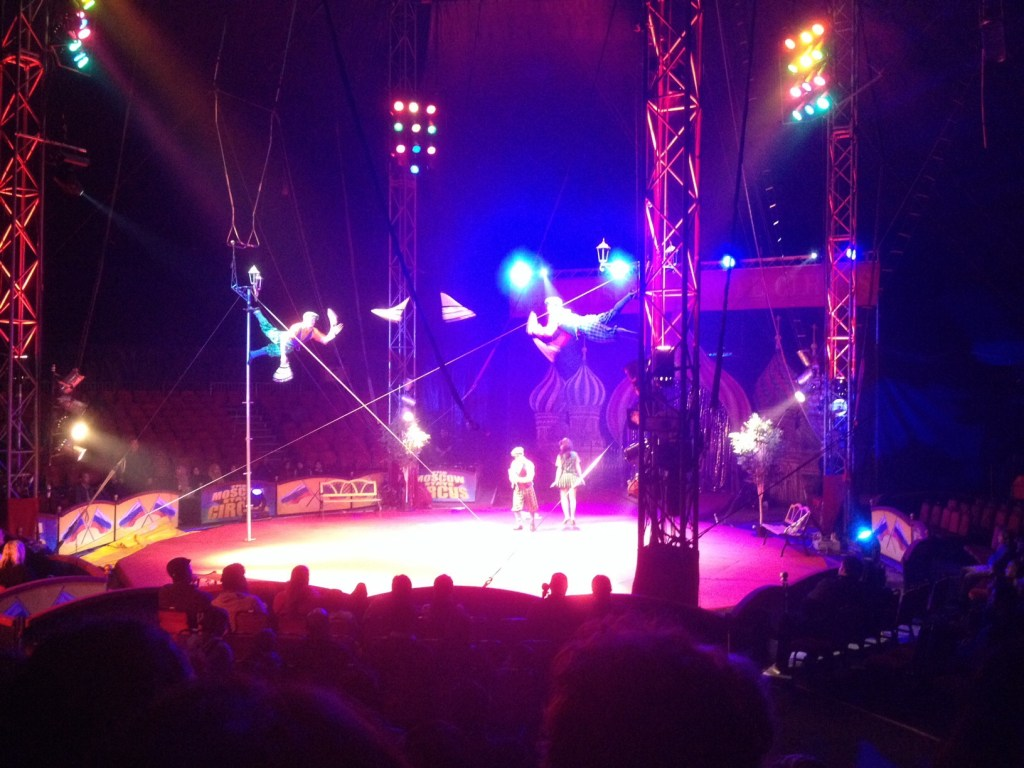 moscow circus jugglers