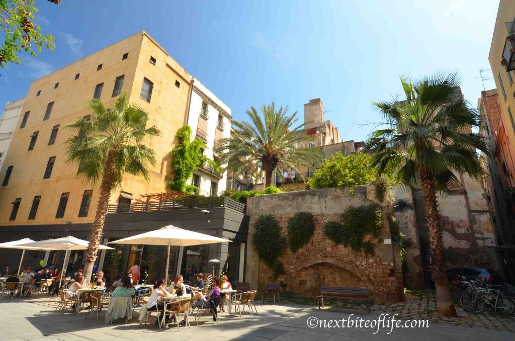 el born barcelona restaurant outdoor seating