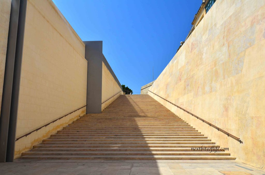valletta version of spanish steps