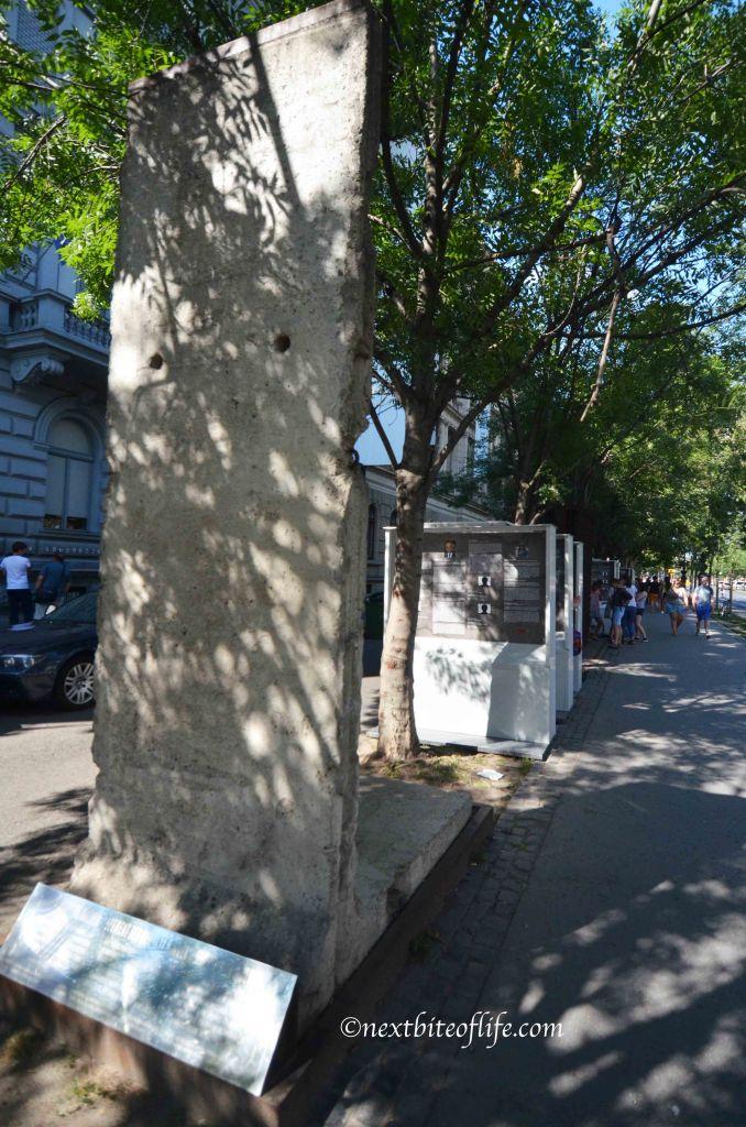 house of terror - berlin wall reminant