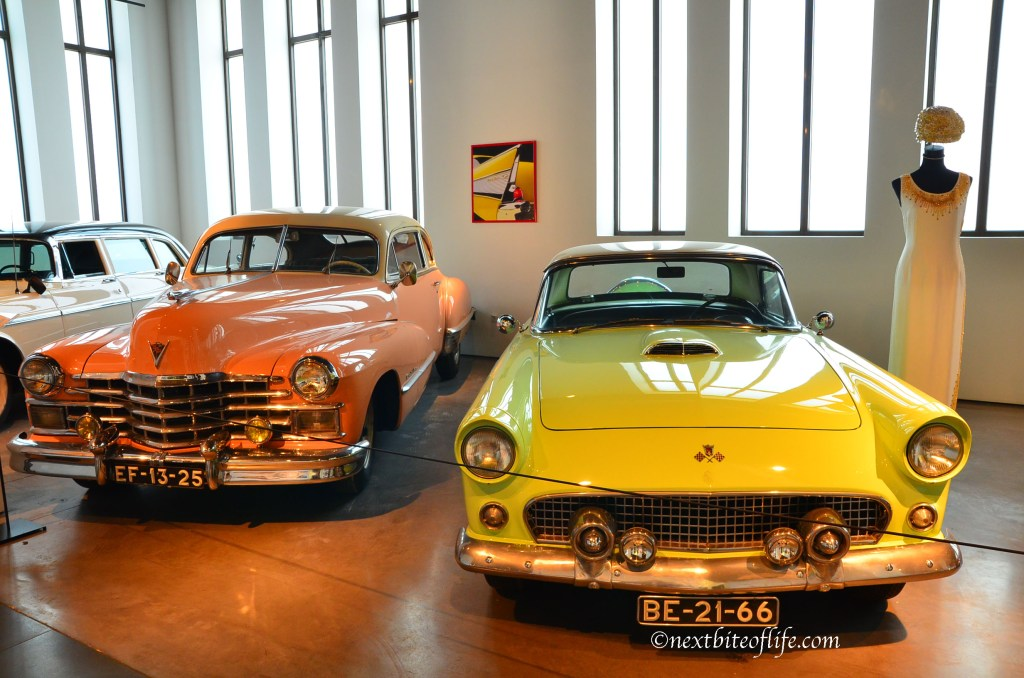You know the U.S has to be represented. American made cars at museo automovil Malaga