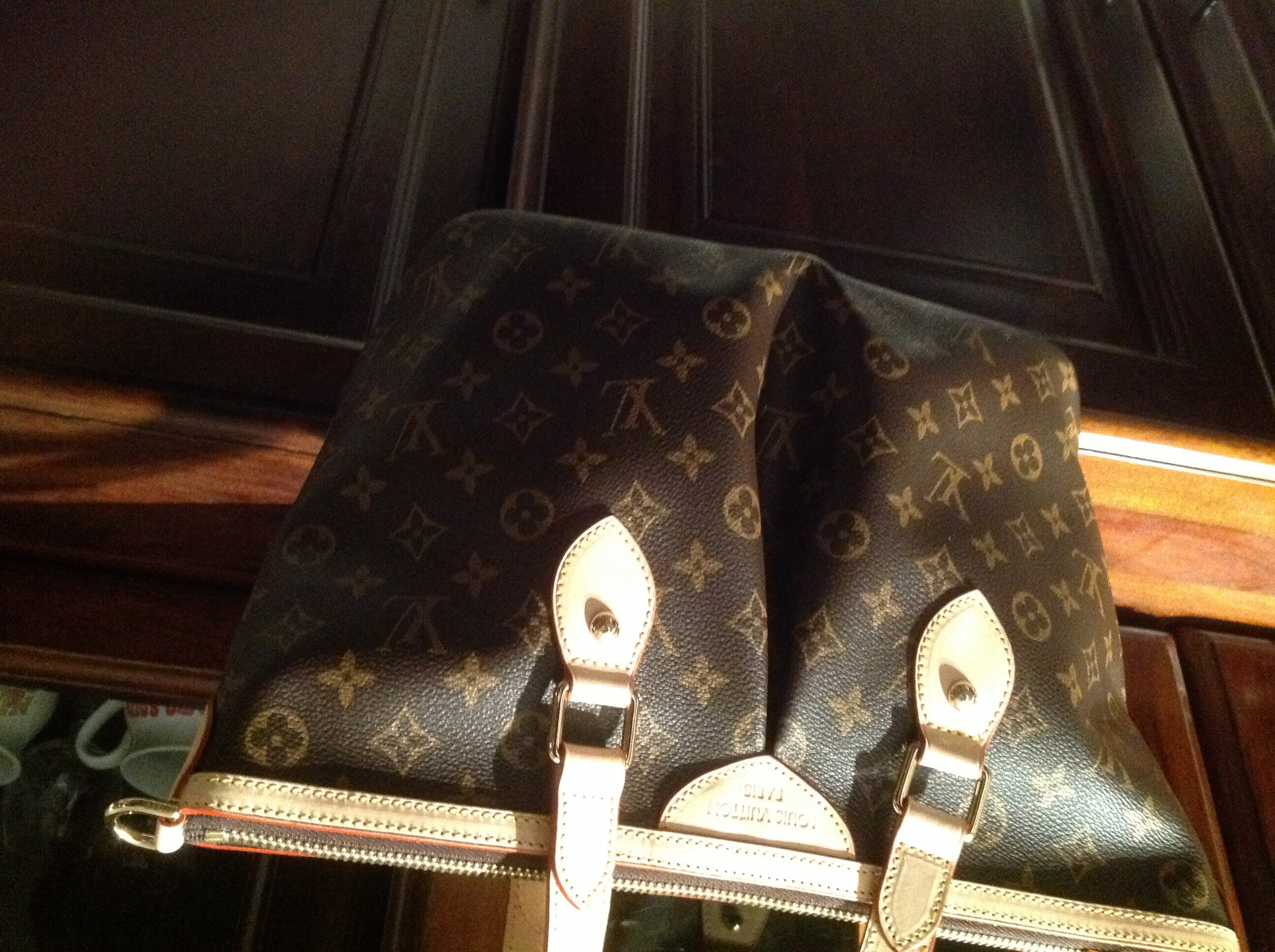 Louis Vuitton. The grand bazaar was just a bit overwhelming when we  visited. It is a gigantic structure e5abee6a1bd8c