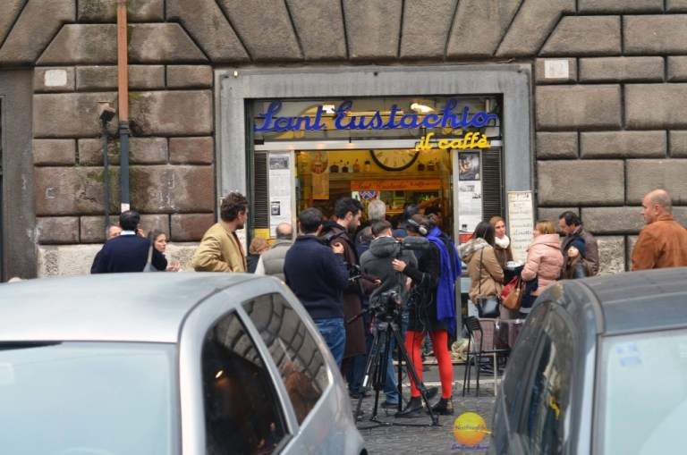 sant eustachio bar in Rome