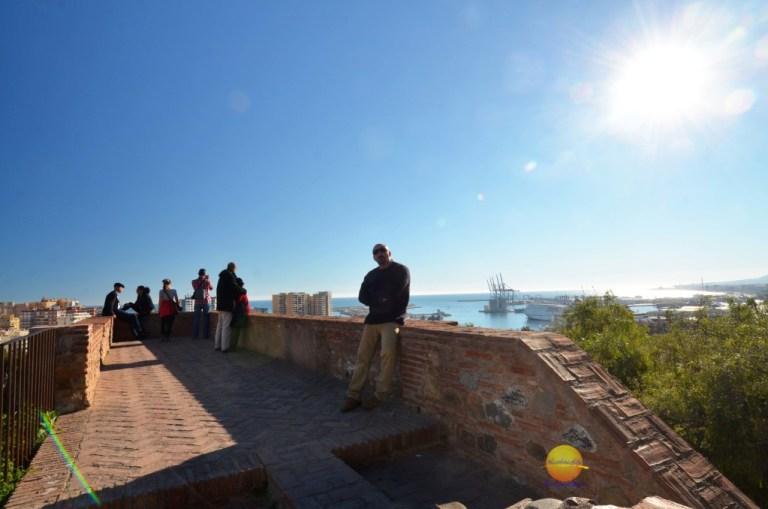 alcazaba view Malaga