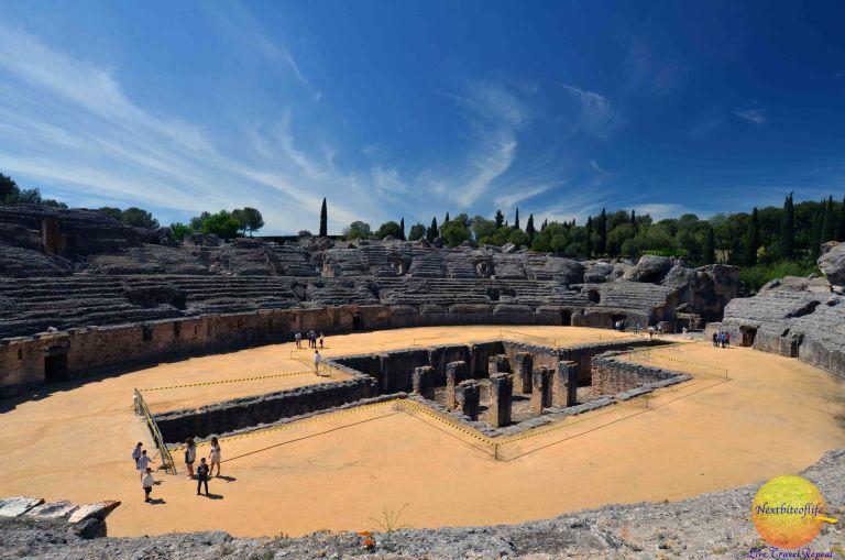 santiponce amphitheater