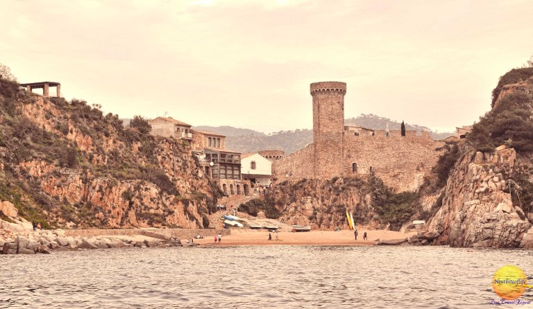 The neighboring town of Tossa de Mar