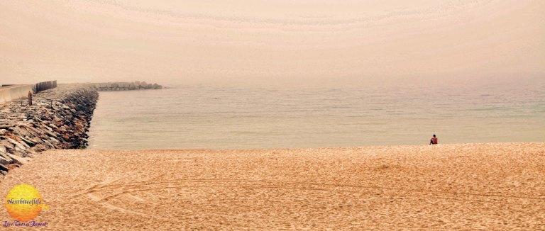 Barcelona beach Poblenou