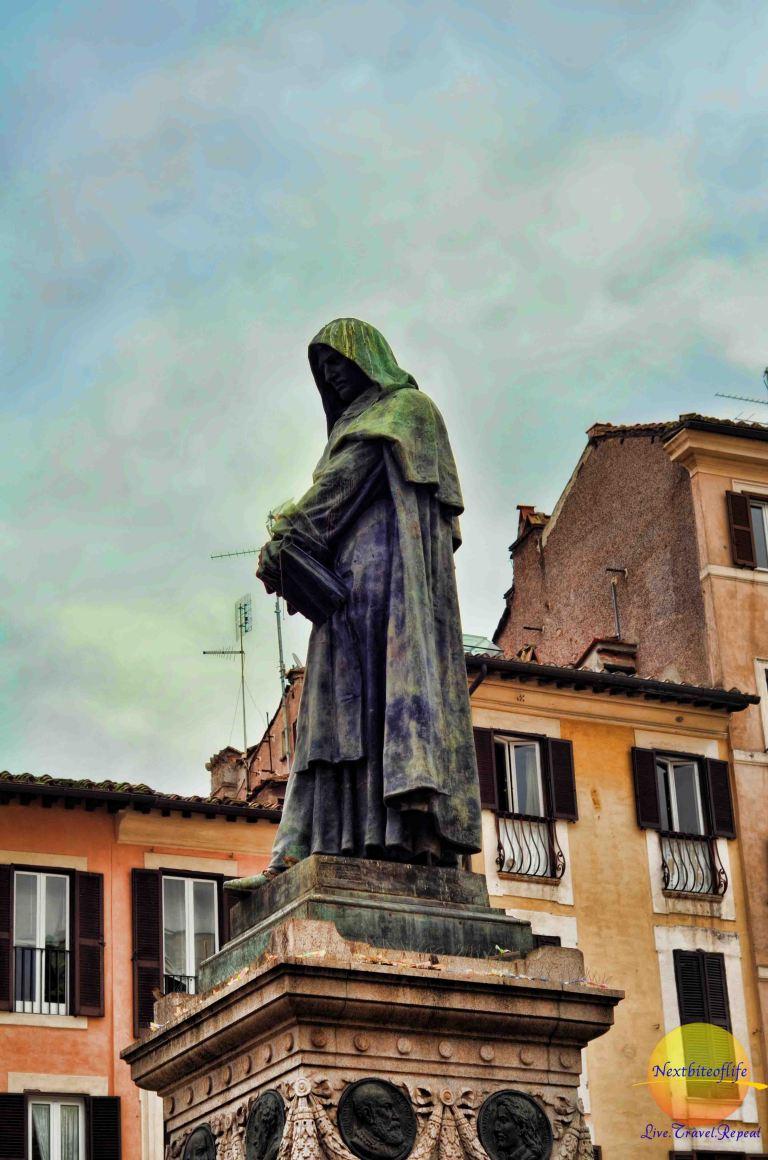 Campo de Fiori, Rome – a lively neighborhood with a dark history