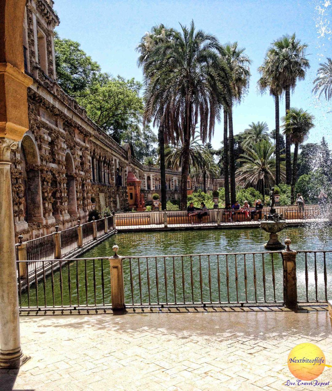 mercury pond 2 royal alcazar seville