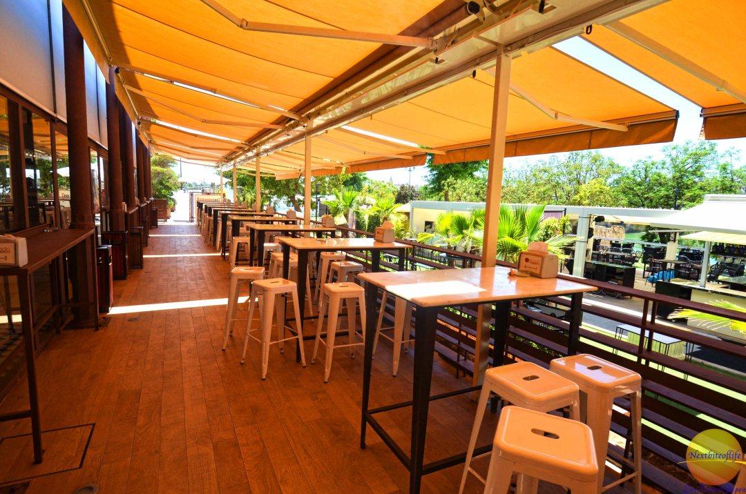 tables at mercado barranco