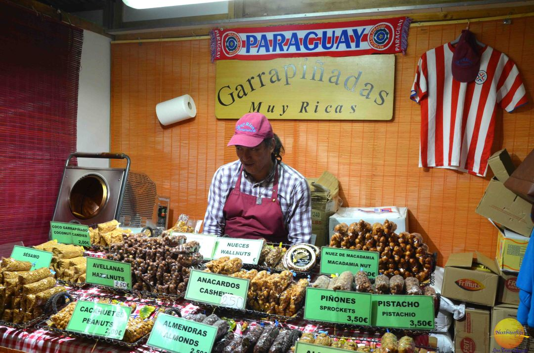 paraguay nnuts display