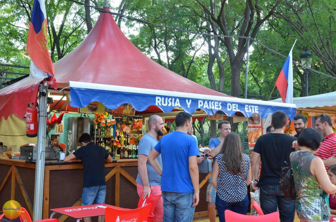 rusia booth sevilla