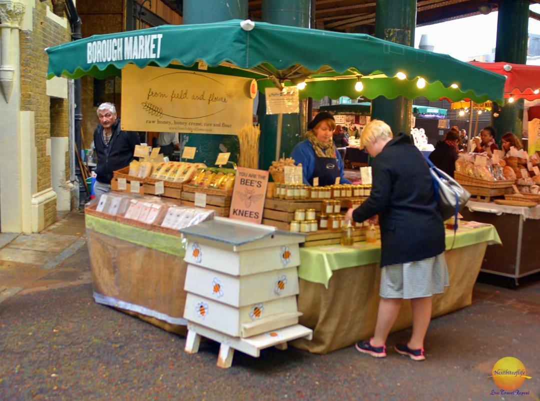 Borough Market, London – Foodies delightful visit.