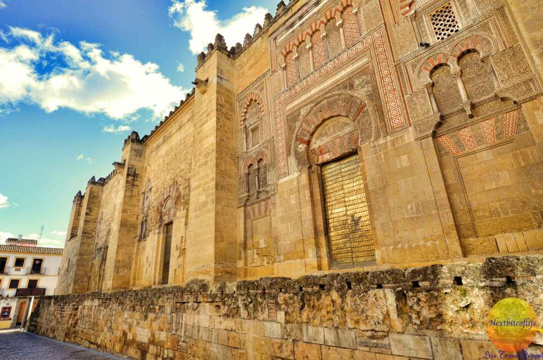 mezquita-walls-outside-cordoba-nextbiteoflife