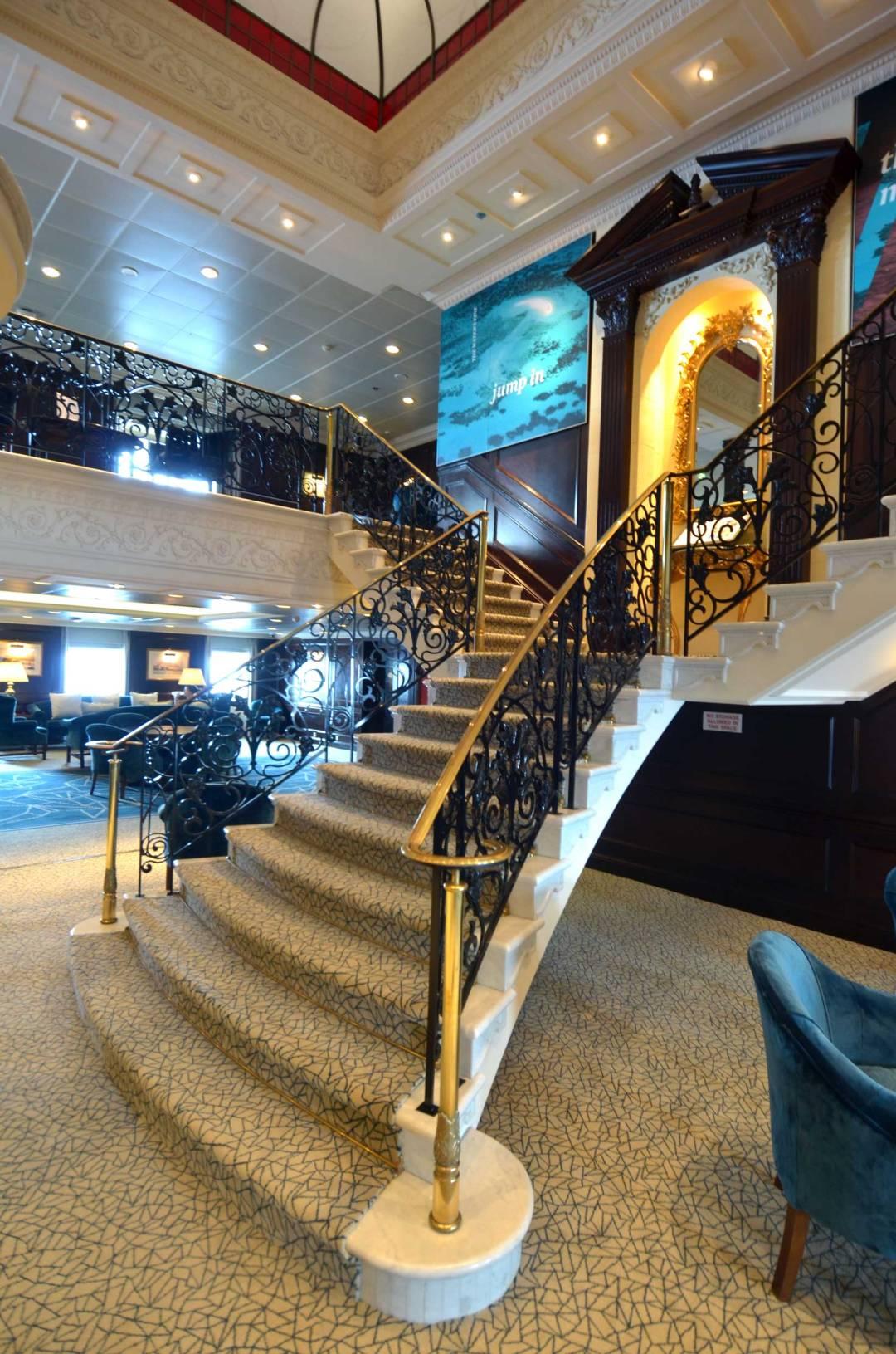 Elegant stairway..