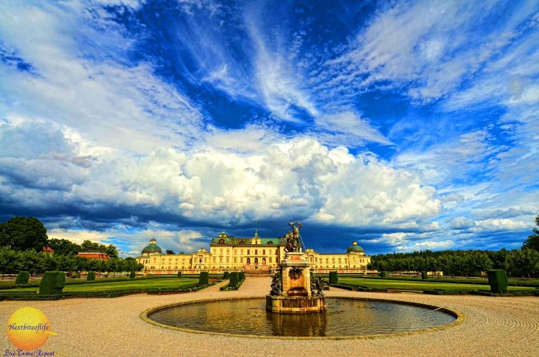 drottingholm palace in stockholm landscape
