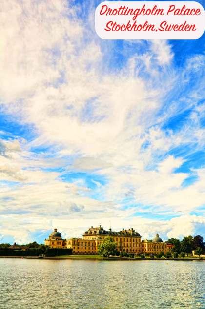 drottingholm palace #stockholm #drottingholm #royalpalace #visitstockholm #sweden