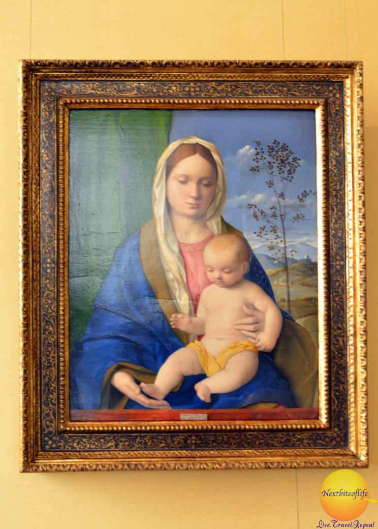 madonna and child borghese gallery