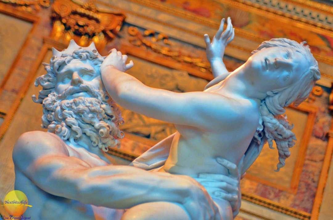 persephone statue borghese gallery rome