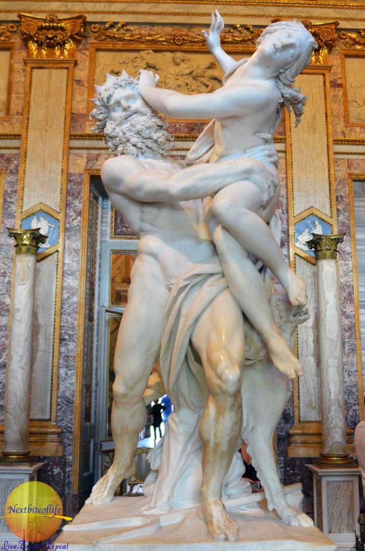 Incredible! persephone statue borghese