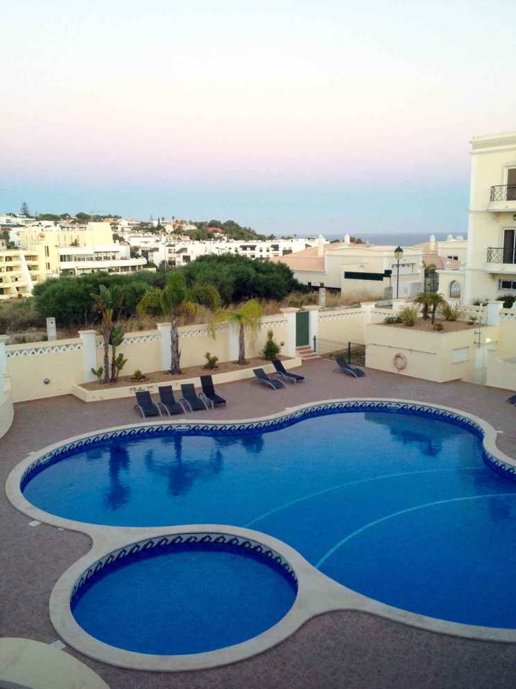 view from lagos portugal apartment
