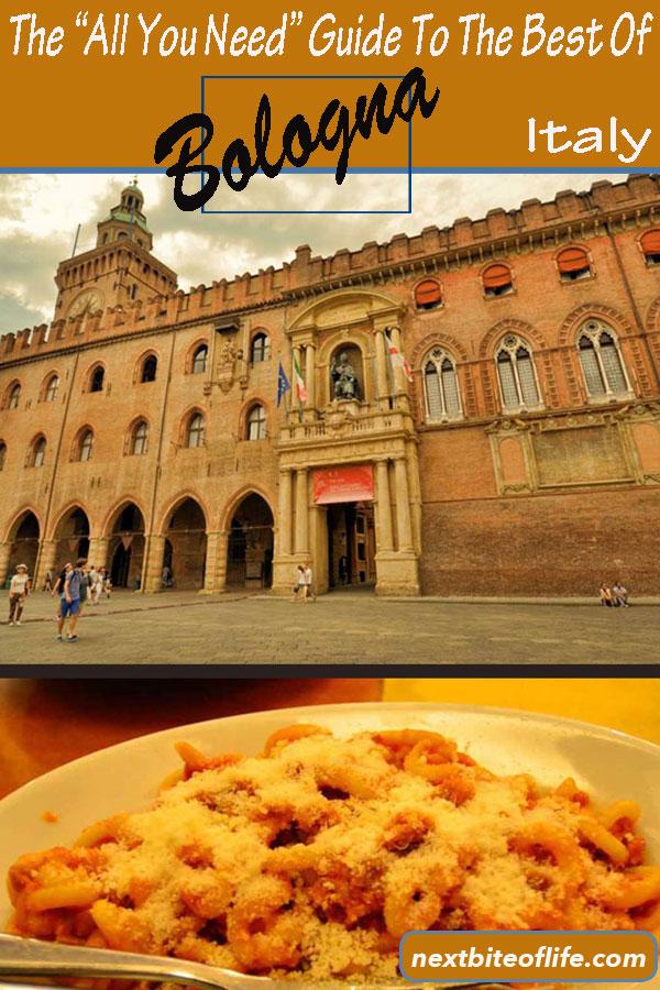 Bologna Italy Guide $bologna #italy #visitbologna #bolognaguide #bolognaitinerary #bolognathingstodo