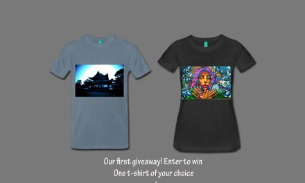 Win a Deluxe Photo T-Shirt and Tote bag on our first giveaway.