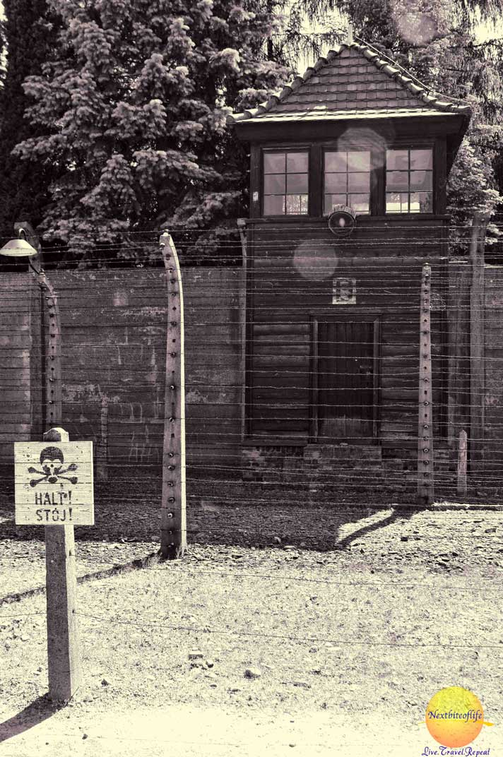 auschwitz guard house