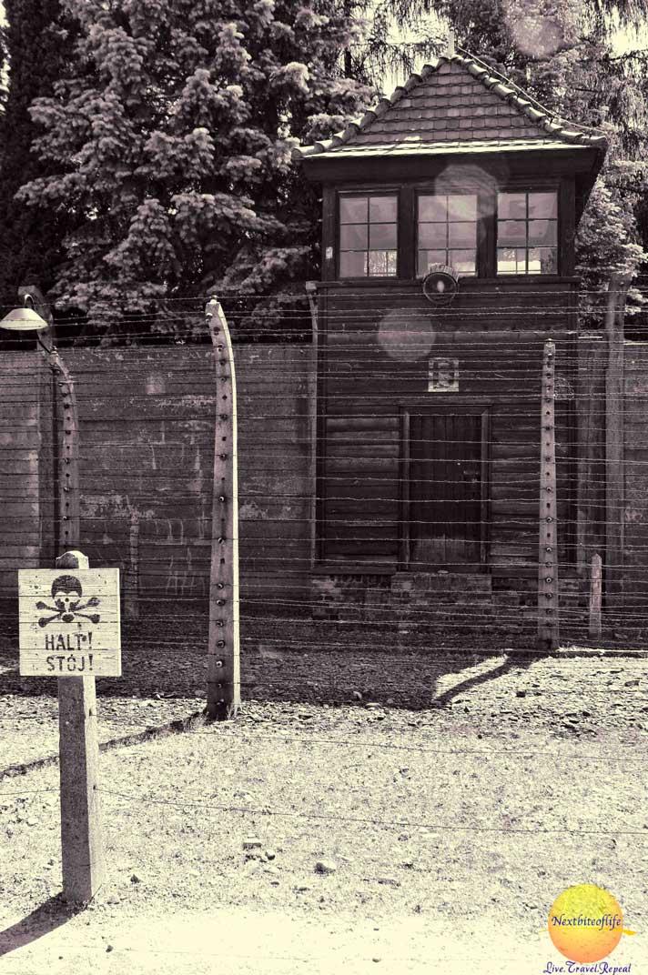 auschwitz guard house