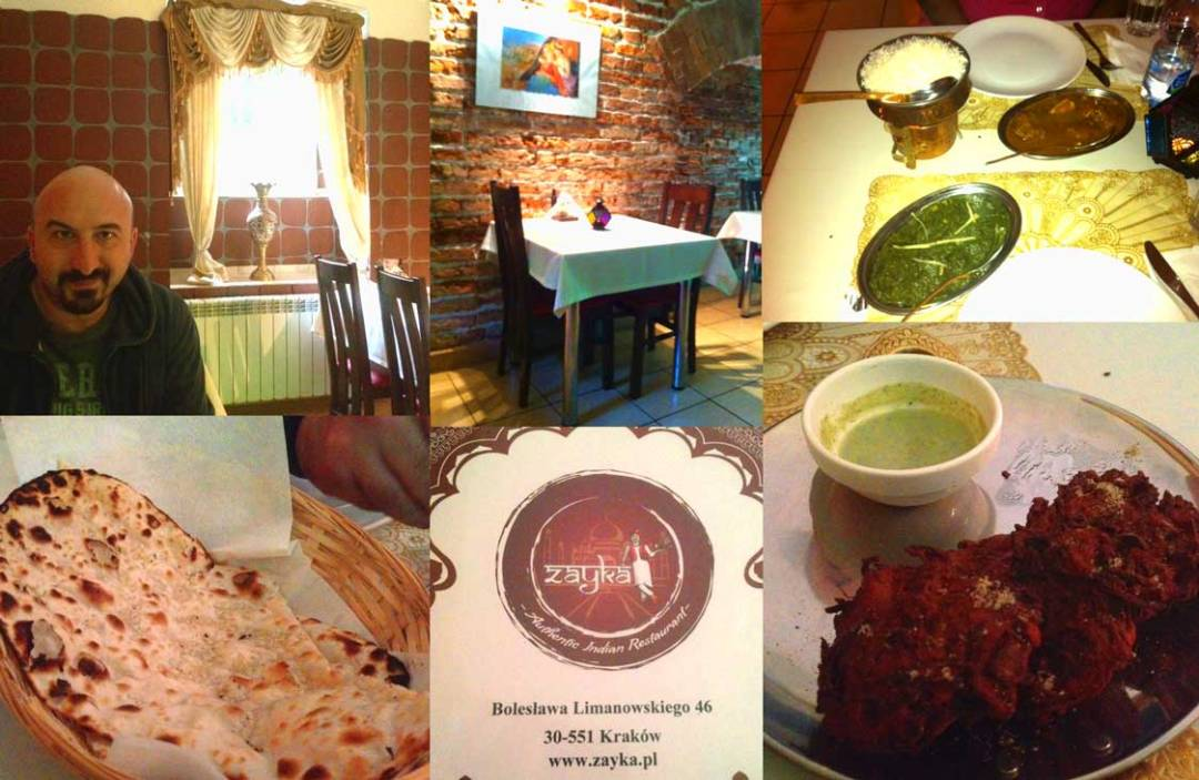 indian food krakow poland
