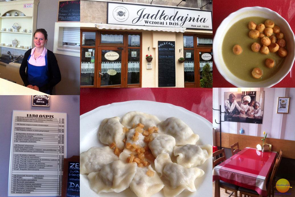 food collage krakow