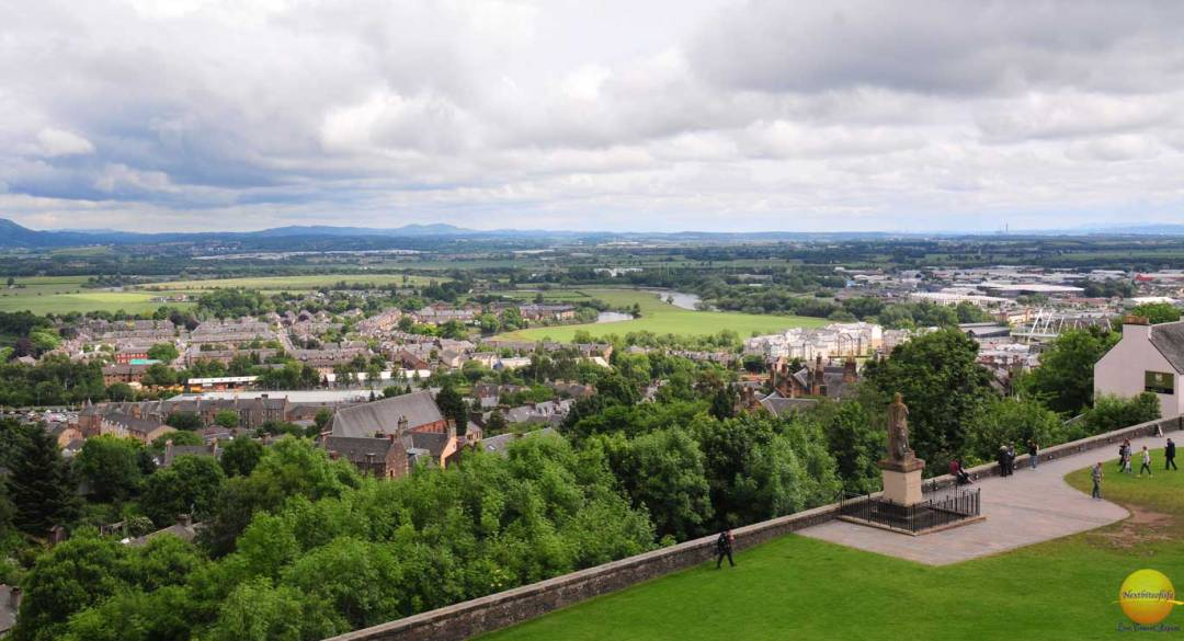 glasgow guide stirling castle view