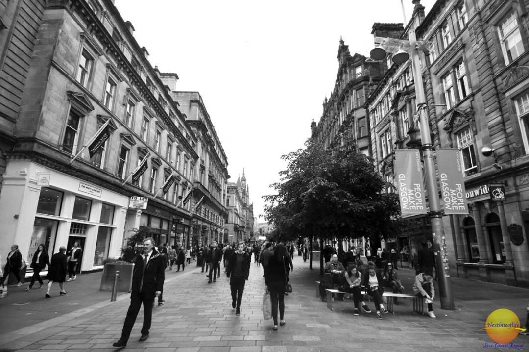 style mile glasgow street