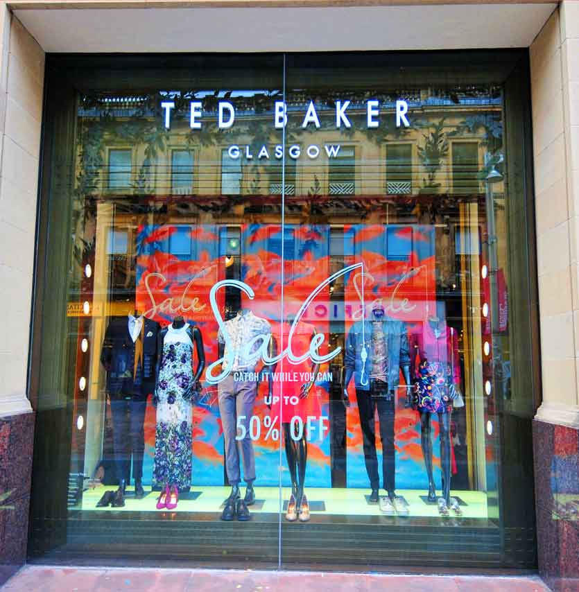 ted baker store glasgow