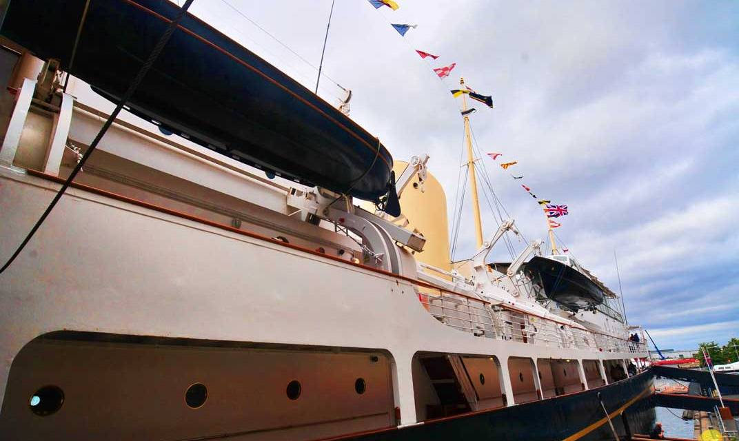 Happy Experience Aboard The Royal Yacht Britannia