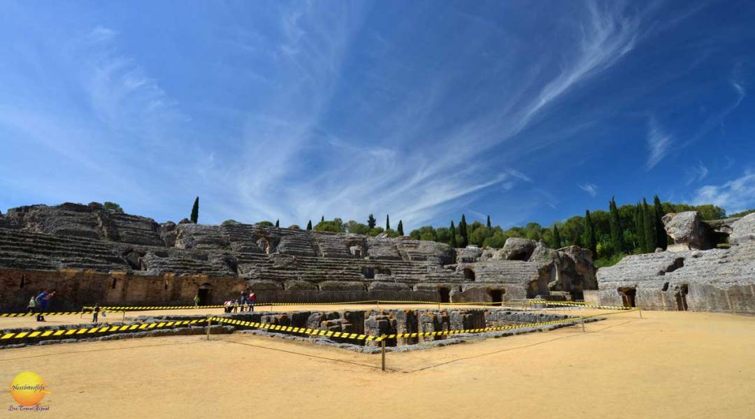 roman forum cordoba spain