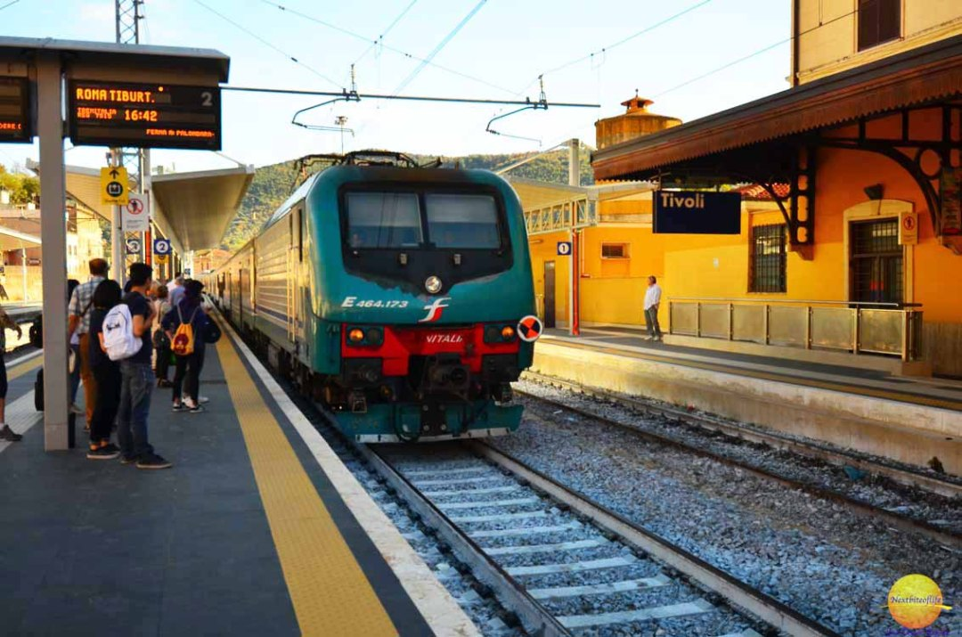 day trip rome to tivoli train