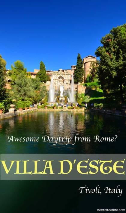 day trip from rome to tivoli villa d'este pinterest #rome #tivoli #romedaytrip #italy #romeguide
