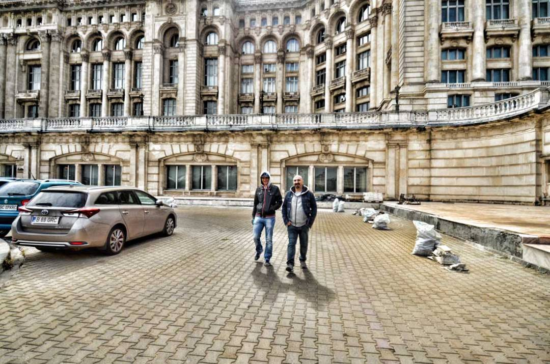 touring the imposing palace of parliament bucharest