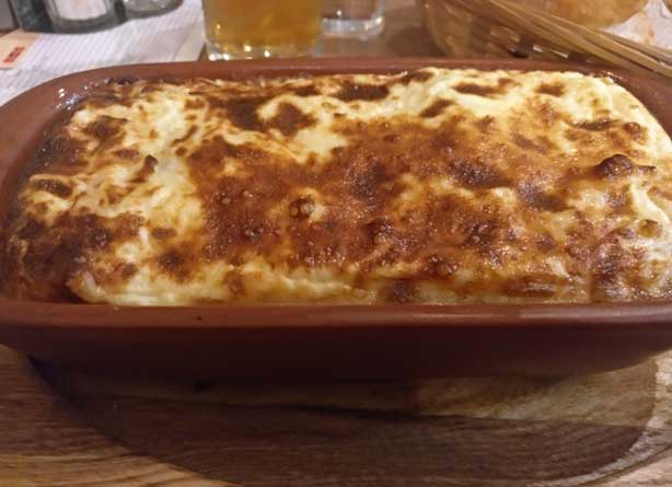 lasagna with shreded beef bucharest