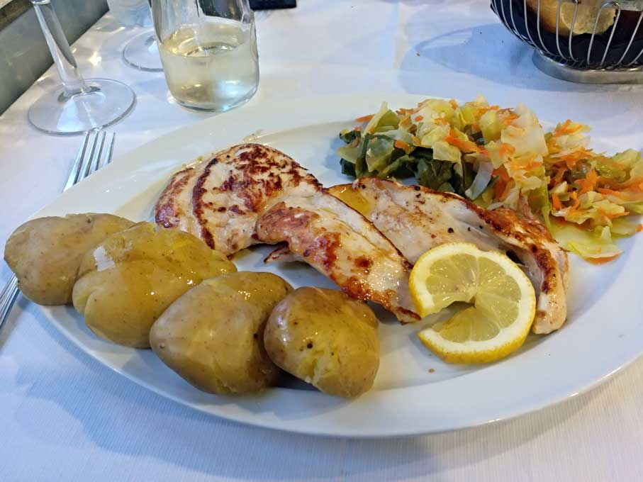 chicken with potatoes porto