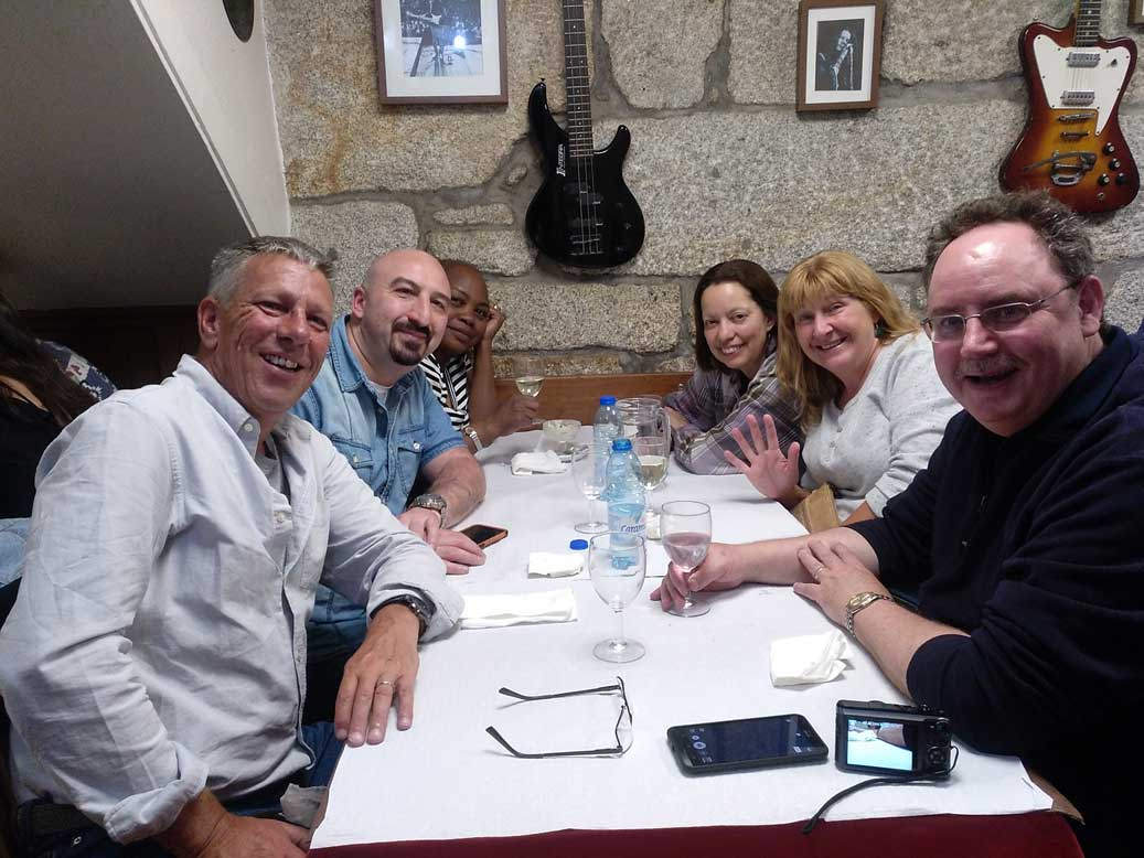 friends at dom antonio porto