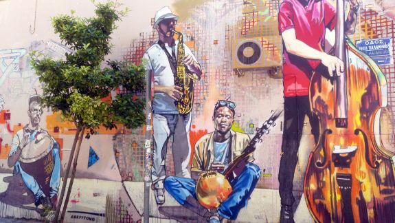 street art athens greece
