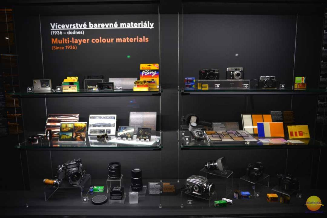 camera and photo equipment at museum technicke prague