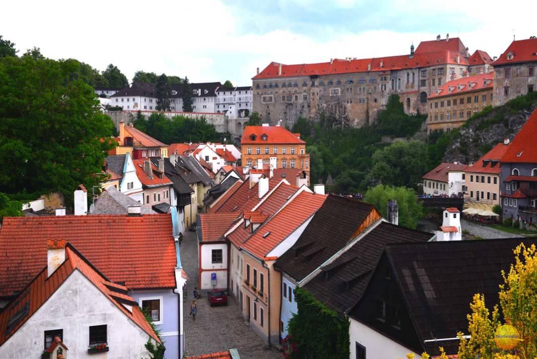 views of krumlov czech republic