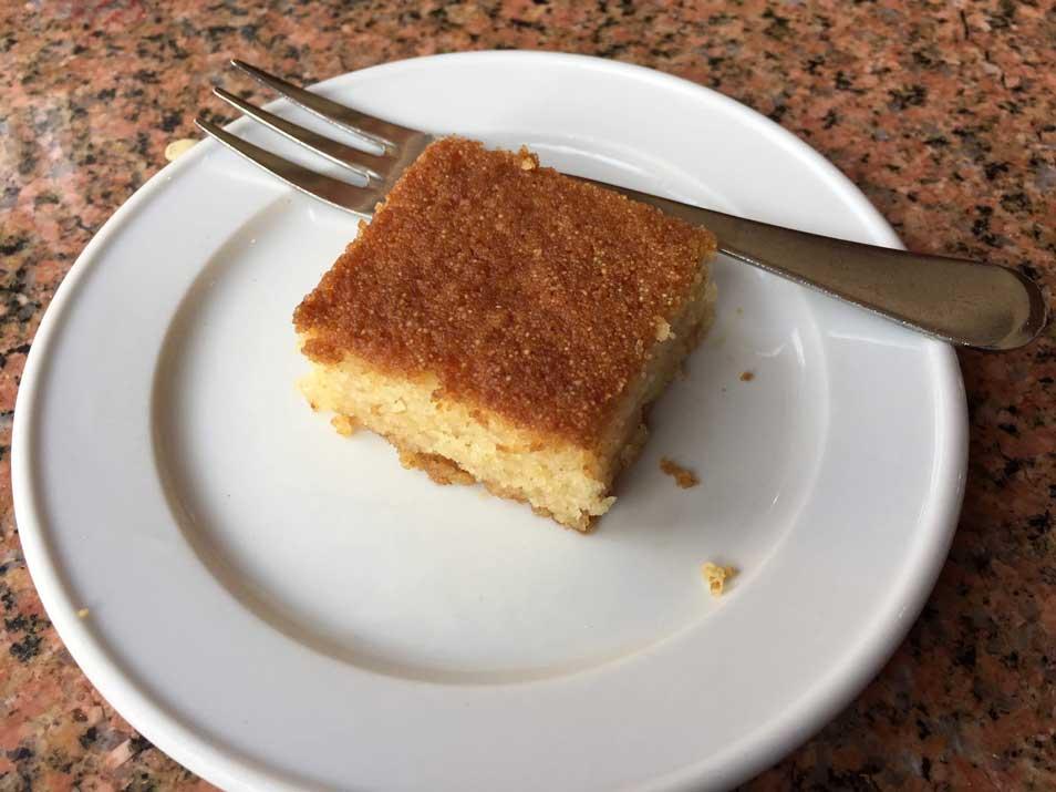 dessert in Luxor Egypt
