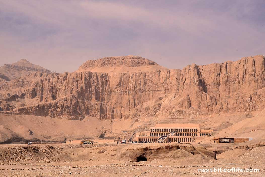 entrance to mortuary of Haptsheput Luxor